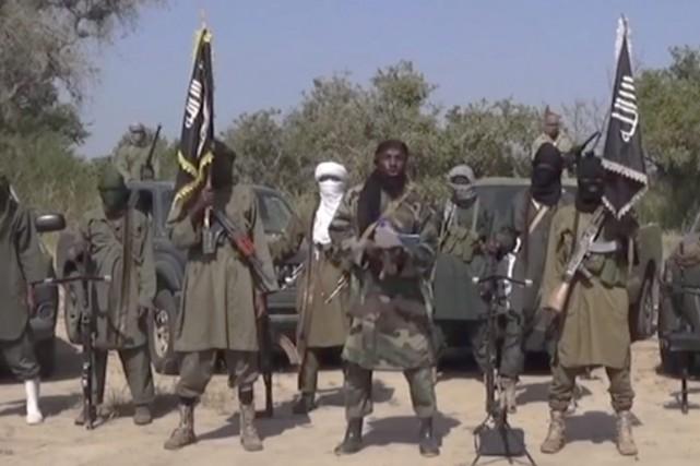 Boko Haram s'est emparé de vastes territoires et... (PHOTO ARCHIVES AP)