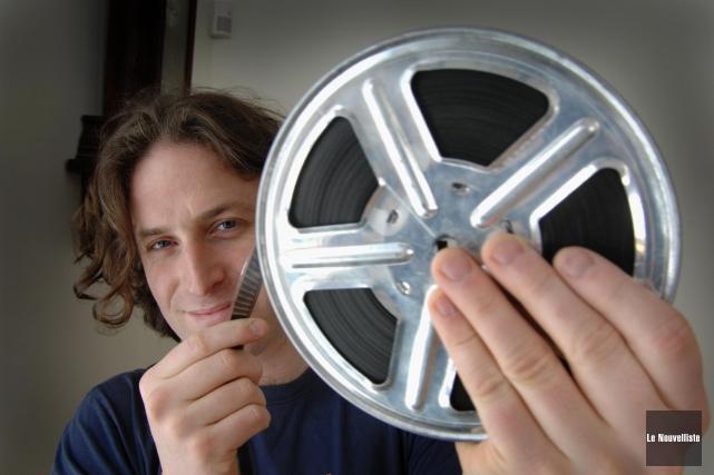 Un court métrage du cinéaste champlainois Simon Laganière... (Photo: Sylvain Mayer Le Nouvelliste)