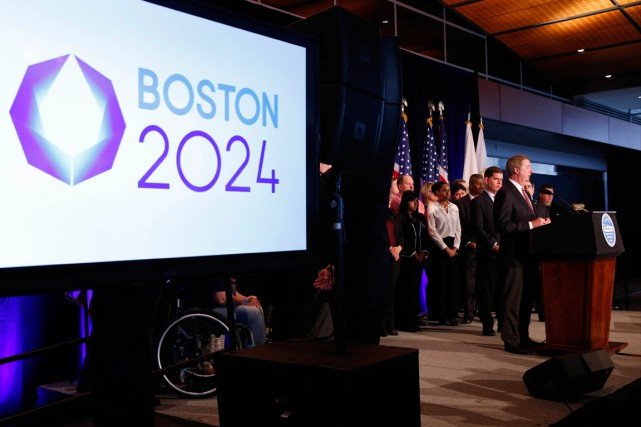 Boston-2024 table notamment sur des contrats de partenariat... (Photo Greg M. Cooper, USA Today)