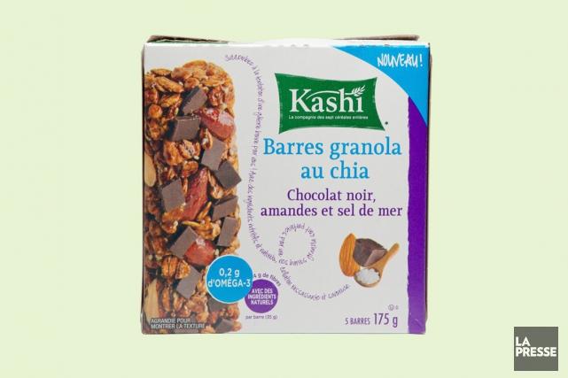 Barres de céréales au chia, chocolat noir, amandes... (Photo Marco Campanozzi, La Presse)