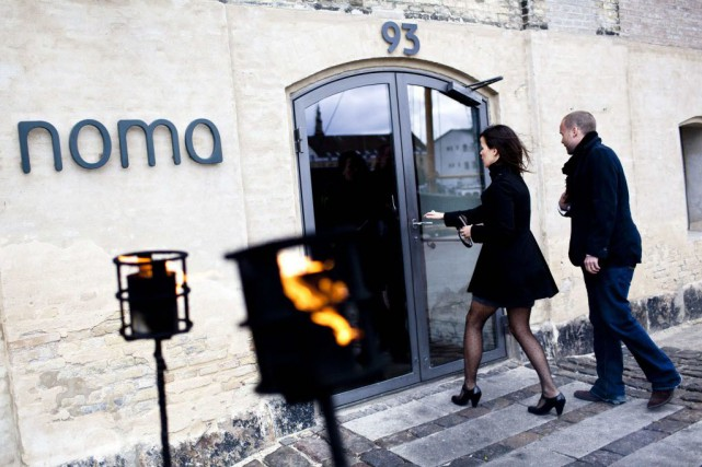 Noma a été élu meilleur restaurant du monde... (Photo Casper Christoffersen, Reuters)
