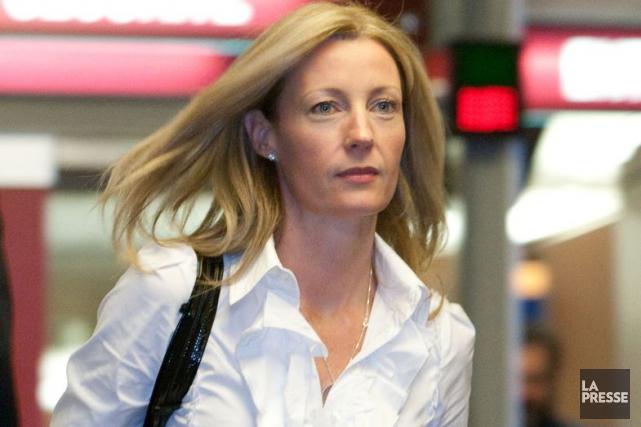 L'ex-conjointe de Vincent Damphousse, Allana Henderson.... (PHOTO HUGO-SÉBASTIEN AUBERT, ARCHIVES LA PRESSE)
