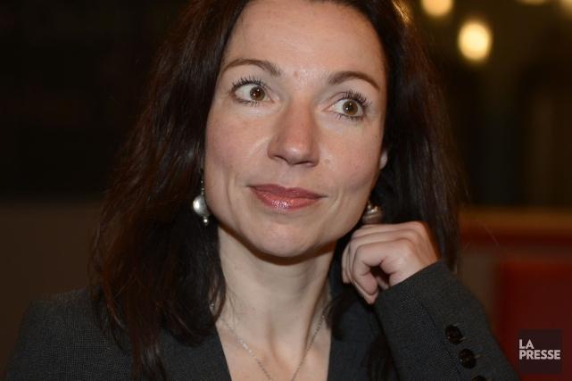 La péquiste MartineOuellet affirme qu'il faut miser sur... (PHOTOTHÈQUE LA PRESSE)