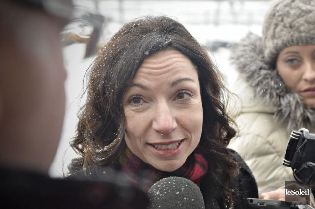 Martine Ouellet... (Photo Pascal Ratthe, archives Le Soleil)