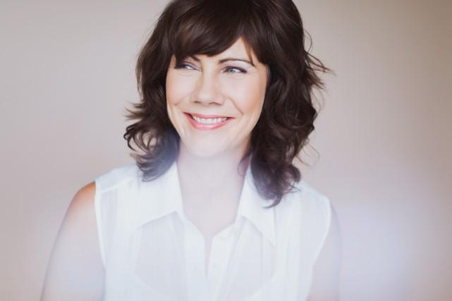 La comédienne Geneviève Brouilletteestime que la beauté est... (Photo fournie par Andréanne Gauthier)
