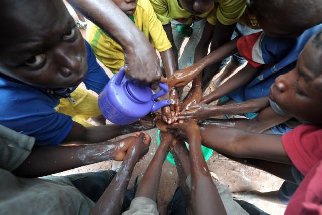 Au moins 20 personnes sont mortes dans une épidémie de choléra qui a éclaté... (Photo ARCHIVES AFP)