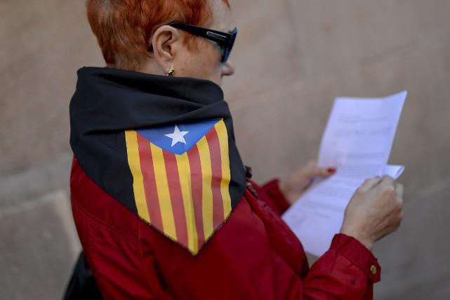 M. Mas a assuré que le «climat politique... (Photo JOSEP LAGO, AFP)