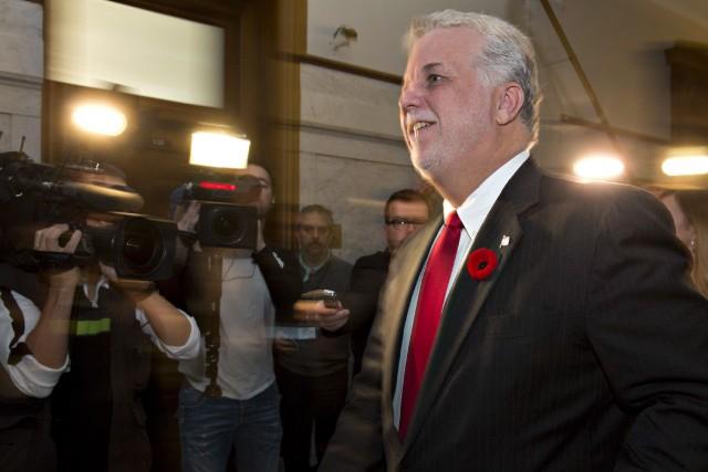 Le premier ministre prévoit participer à plusieurs entretiens... (Photo Jacques Boissinot, Archives PC)