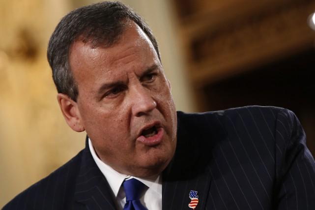 Le gouverneur du New Jersey Chris Christie est... (PHOTO ARCHIVES REUTERS)