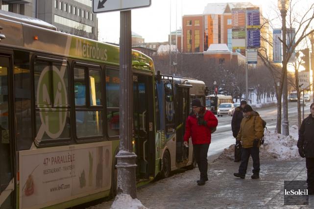 Actuellement, un transporteur public ne peut pas interdire... (Le Soleil, Caroline Grégoire)