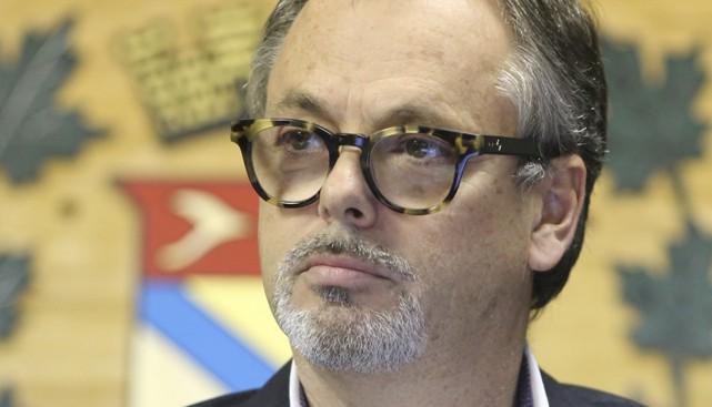 Le conseiller municipal Louis Villeneuve compte déposer une... (photo Alain Dion, archives La Voix de l'Est)