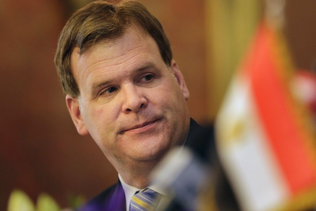 John Baird... (PHOTO AMR NABIL, ASSOCIATED PRESS)