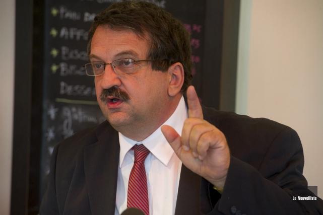 Pierre Benoit Fortin a été destitué de son... (Photo: Stéphane Lessard, Le Nouvelliste)