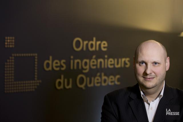 Luc Vagneux, directeur du développement professionnel à l'Ordre... (PHOTO IVANOH DEMERS, LA PRESSE)