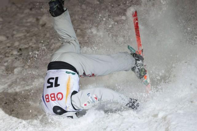 Olivier Rochon a raté en compétition un saut... (Agence France-Presse, Archives)