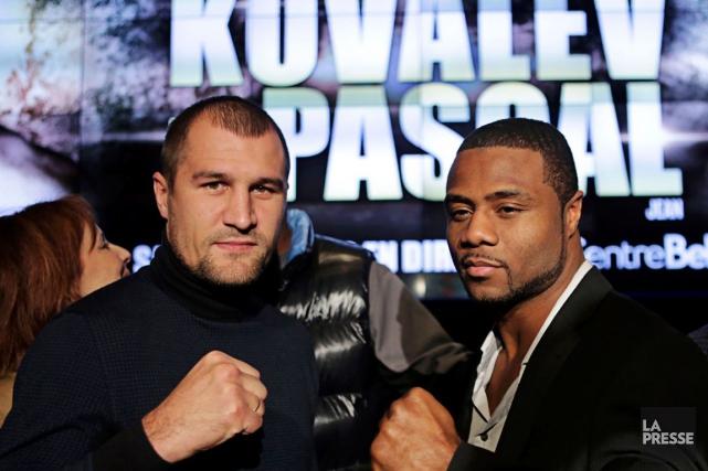Sergey Kovalev et Jean Pascal vont s'affronter le... (Archives, La Presse)