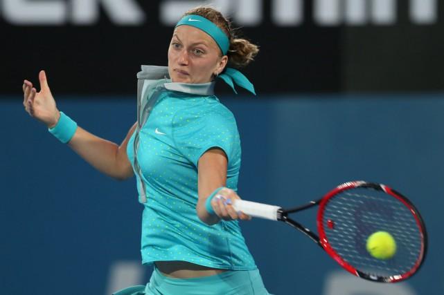 La quatrième joueuse mondiale PetraKvitova paraît en grande... (Photo Craig Golding, AFP)