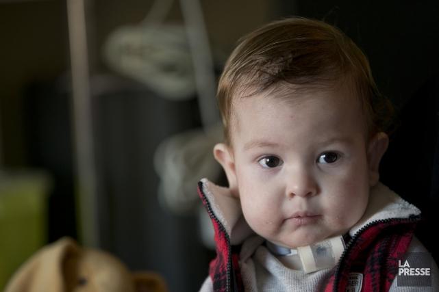 Le petit Arnaud Bertrand... (Photo La Presse)