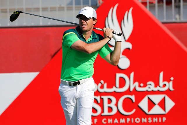Rory McIlroy a joué 67 à sa première... (Photo Ahmed Jadallah, Reuters)