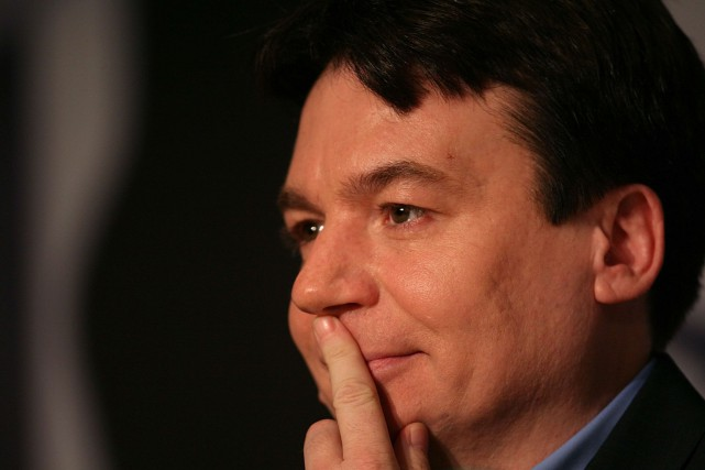 Mike Myers... (Photo Archives AFP)