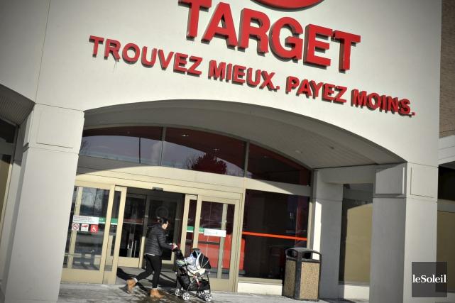Le magasin Target à Laurier Québec... (Le Soleil, Pascal Ratthé)
