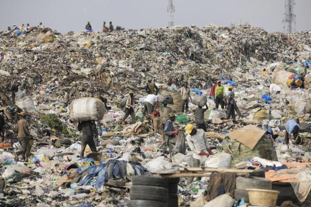 Les émissions de méthane, un polluant à courte... (PHOTO ARCHIVES AP)