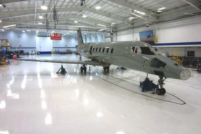 Bombardier a suspendu son programme Learjet 85, ce... (Photo fournie par Bombardier)