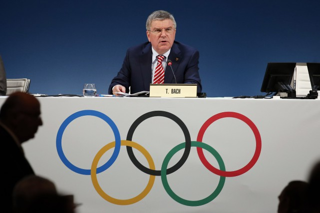 Le président du CIO, Thomas Bach.... (Photo archives Reuters)
