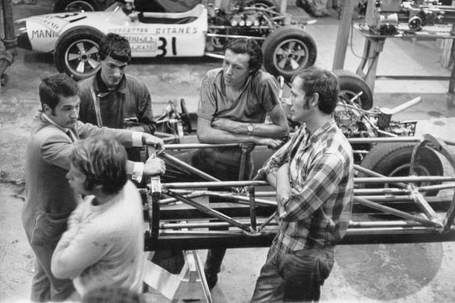 La monoplace Manic Grac est la première voiture... (Photo fournie par Maurice Gris)