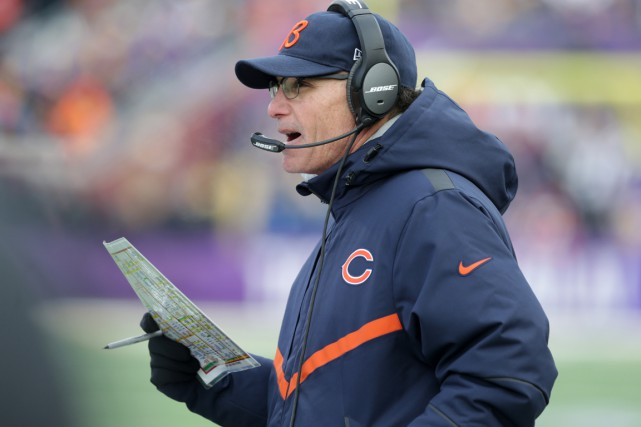 Marc Trestman... (Photo Jim Mone, AP)