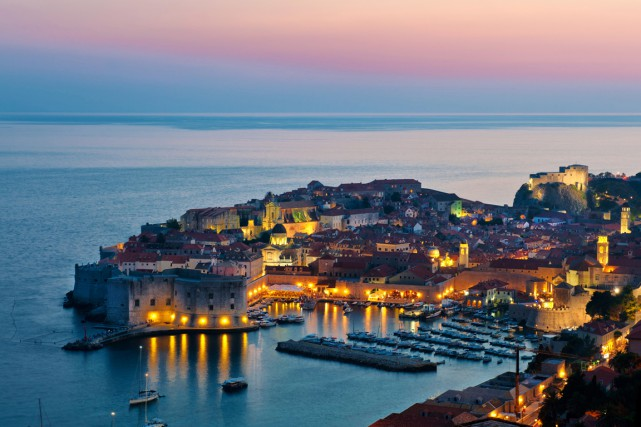 La charmante ville de Dubrovnik offre une ambiance... (Photo Digital/Thinkstock)