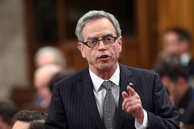 Le ministre des Finances, Joe Oliver... (Photo FRED CHARTRAND, PC)