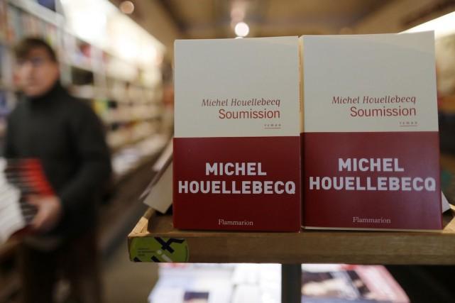 Le nouveau roman de Michel Houellebecq,Soumission,est paru le... (Photo Jacky Naegelen, REUTERS)