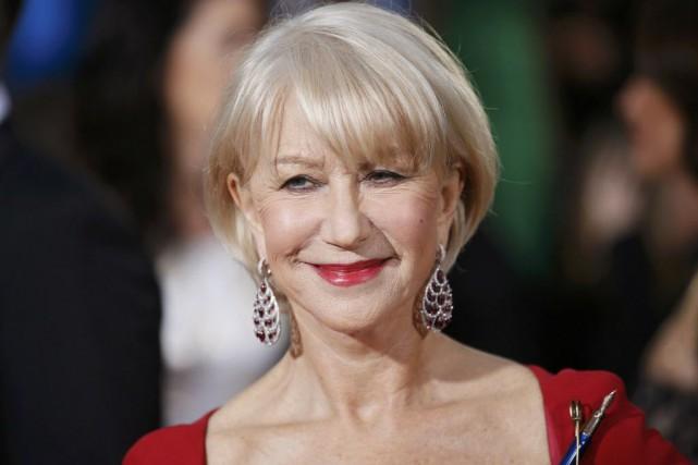 Helen Mirren a déclaré qu'elle souhaitait inciter d'autres... (Photo DANNY MOLOSHOK, Reuters)