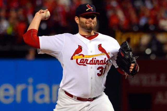 Lance Lynn... (Photo Jeff Curry, USA Today Sports)