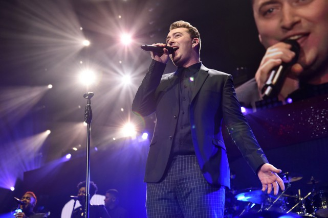 Sam Smith est notamment nommé dans les catégories... (PHOTO JOHN SHEARER, ARCHIVES ASSOCIATED PRESS)