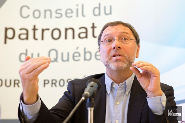Le président-directeur général du Conseil du patronat, Yves-Thomas... (PHOTO ROBERT SKINNER, ARCHIVES LA PRESSE)