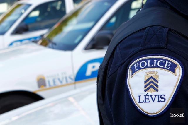 Ce sont les policiers de Lévis qui ont... (PHOTO ARCHIVES, LE SOLEIL)