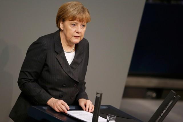 La chancelière allemande Angela Merkel a critiqué les... (PHOTO FABRIZIO BENSCH, REUTERS)