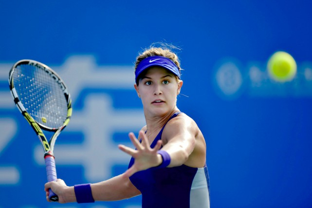 En 2014, Bouchard avait atteint les demi-finales des... (PHOTO ARCHIVES ASSOCIATED PRESS)
