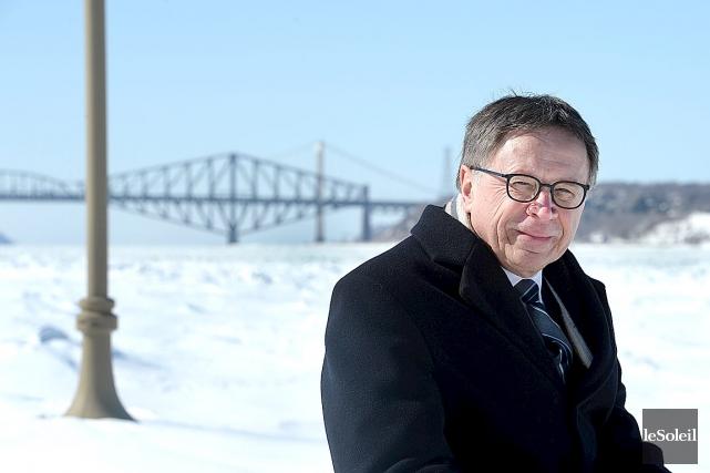 Le maire de Lévis, Gilles Lehouillier, souligne que... (Photothèque Le Soleil, Jean-Marie Villeneuve)