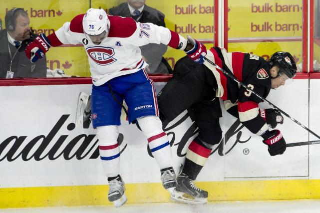 Notre couverture du match entre le Canadien et les Sénateurs d'Ottawa. (Photo La Presse Canadienne)