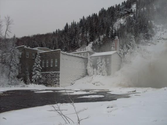 Les premiers mégawatts provenant de la centrale hydroélectrique... ((Archives))