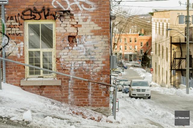 Est-ce qu'un camion des travaux publics de la Ville de Sherbrooke a été... (Imacom, Frédéric Côté)