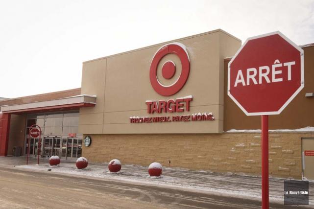 Le magasin Target de Trois-Rivières, ouvert depuis septembre... (Photo: François Gervais, Le Nouvelliste)
