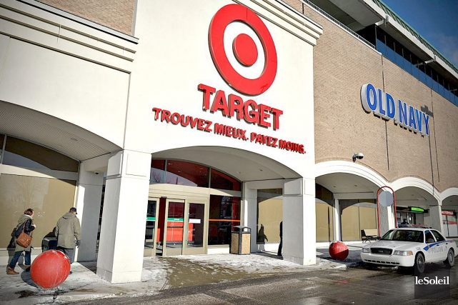 Le Target de Laurier Québec... (Photothèque Le Soleil, Pascal Ratthé)