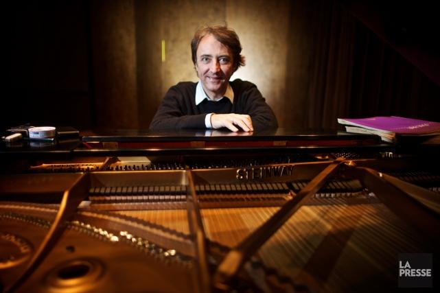 Le pianiste Jean-Efflam Bavouzet.... (PHOTO ANDRÉ PICHETTE, LA PRESSE)