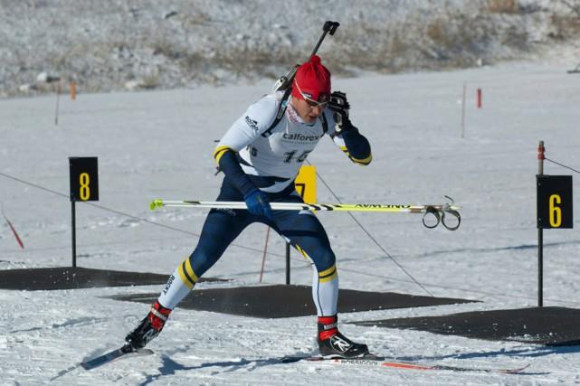 Le biathlonien Guillaume Bertrand participera à sa première... (Photo: Courtoisie)