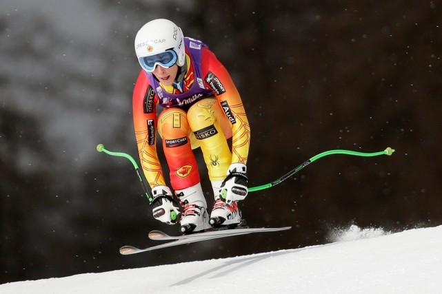 La Canadienne Larisa Yurkiwa terminé deuxième de la... (Photo Max Rossi, Reuters)