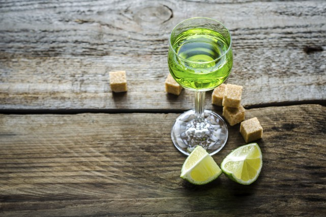 Il y a 100 ans, l'absinthe, boisson sulfureuse rendue célèbre par des artistes... (Photo Digital/Thinkstock)